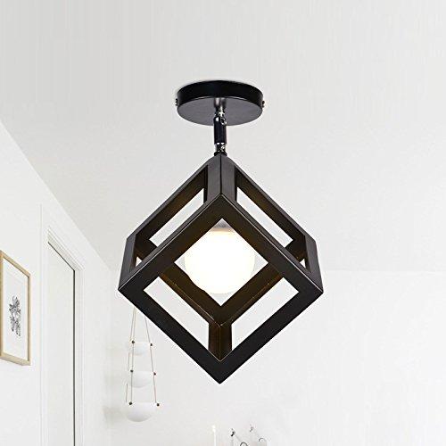 LightInTheBox Vintage Loft Ceiling Lamp Light Direction Adjustable Flush Mount lights Chandeliers Entry Hallway Game Room Kitchen light Fixture