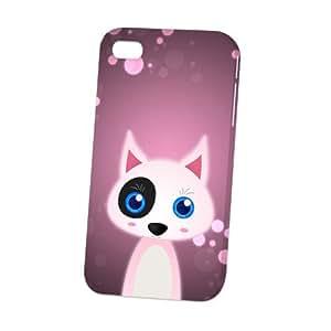 Case Fun Apple iPhone 4 / 4S Case - Vogue Version - 3D Full Wrap - Bull Terrier by DevilleART