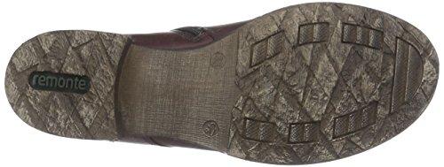 Remonte D4379 Dame Militærstøvler Rådne (chianti / Granit / Vin / 35) 5aWeGjWrsG