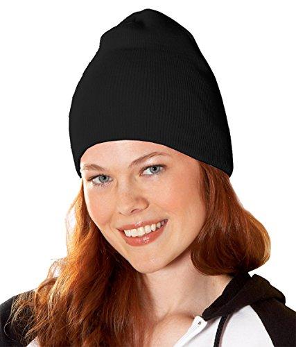 Yupoong v-flexfit Heavyweight Knit Cap Negro