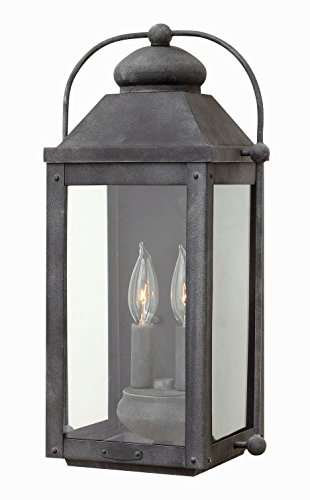 Hinkley 1854DZ Americana Two Light Wall Mount from Anchorage collection in Bronze/Darkfinish, ()