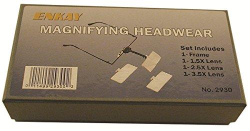 ENKAY 2930  Magnifying Headwear, Boxed