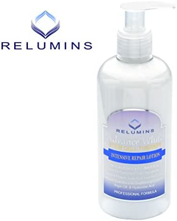 3 Bottles of Authentic Relumins Advance White Stem Cell Therapy Intensive Repair Lotion- Most Advanced Skin Whitening & Repair