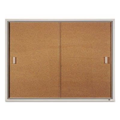QRTD2401 - Quartet Enclosed Bulletin Board