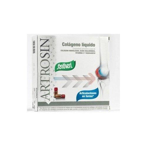 Artrosin Colágeno Liquido Hialurónico 16 viales de Santiveri: Amazon.es: Salud y cuidado personal