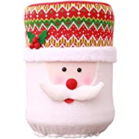 Christmas Drinking Bucket Cartoon Snowman Dust Glass Water Dispenser Barrel Cove (Santa Claus)