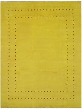 EORC Marla Area Rug 6' x 9' Yellow