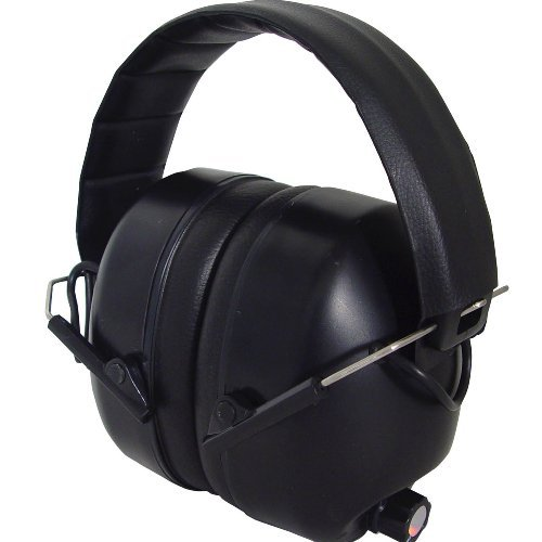 Impulse Sound Protection - Radians 430-EHP Electronic Earmuffs, Impulse Sound Protection, Hearing Amplification, NRR 27 by Radians