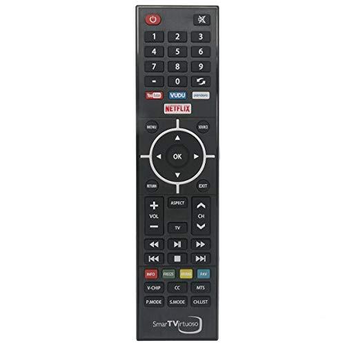 New Remote Control Replaced for RCA Smart TV Virtuoso RNSMU5536