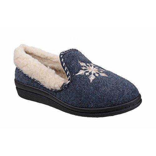 Pantofole Rosse A Forma Di Fiocco Di Neve Donna / Donna Mirak