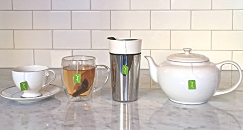 Premium Drawstring Tea Bags For Loose Leaf, Disposable Filters, Non GMO, Strong, No Mess Tag, All Natural Infuser, Compostable, Unbleached Manilla Hemp Paper by Musings Tea (Image #5)