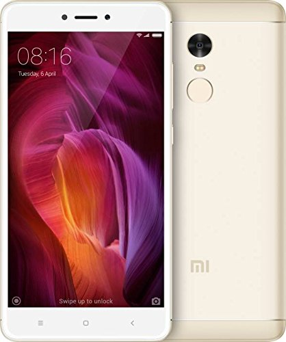 Mi Redmi Note 4 (Gold, 32 GB) (With 3 GB RAM)