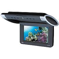 Tview T101DVFD-BK Car Flip Down DVD Monitor (Black)