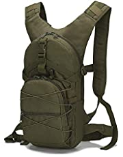15L Military Molle Backpack 800D Oxford Military Hiking Bicycle Backpacks Outdoor Sports Cycling Climbing Camping Bag Army for Tactical,#06