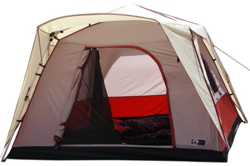 BlackPine- 8 x 7 4-Person Freestander Turbo Tent, Outdoor Stuffs
