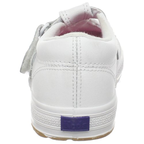 Keds Daphne T-Strap Sneaker (Toddler/Little Kid), White, 12 M US Little Kid by Keds (Image #2)