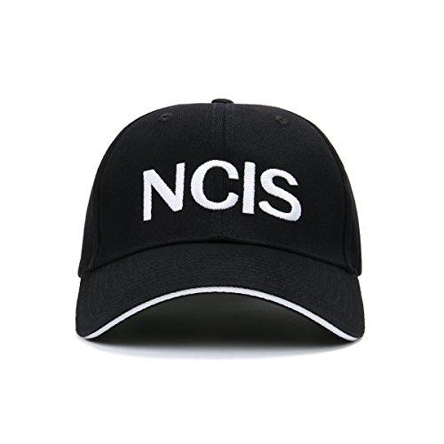 NCIS Special Agents Cap Naval Criminal Investigative Service Embroidered  Adjustable Cotton Baseball Cap Hat (Black 156267cc4a66