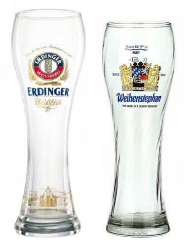 German Beer Glass Sampler 2-Piece - German Glasses