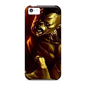 Protective Tpu Case With Fashion Design For Iphone 5c (the Hulk)
