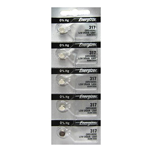 Energizer Silver Oxide Batteries SR516SW
