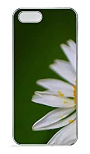 Flowers 13 Cover Case Skin for iPhone 5 5S Hard PC Transparent