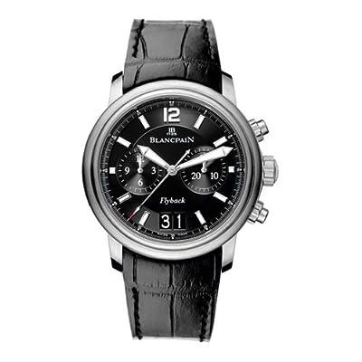 Blancpain Men's 2885F.11B30.53B Leman Flyback Chronograph Grande Date Watch