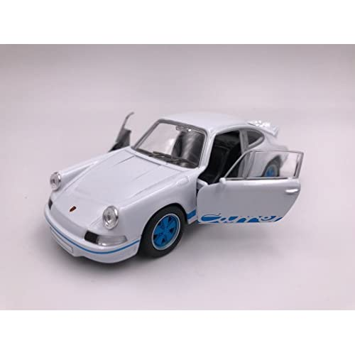 Welly Porsche Carrera RS 2.7 modèle de licence de voiture produit 1: 34-1: 39 Blue