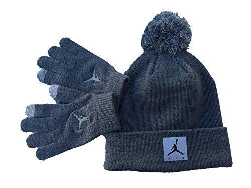 5246ac99f Galleon - Nike Air Jordan Jumpman Winter Snow Ski Hat/Gloves 2-Piece ...