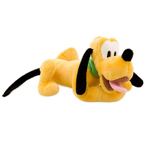 Disney Pluto Plush Toy - Mini Bean Bag - 9''