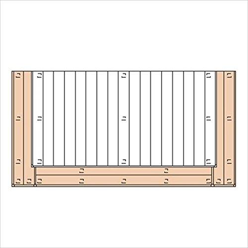 三協アルミ ひとと木2 オプション 2段デッキ(間口+出幅 「両側」) 束連結仕様 2.5間×4尺 『デッキ本体は別売です』 『ウッドデッキ 人工木』  チャコールブラック B00TZI5OW2