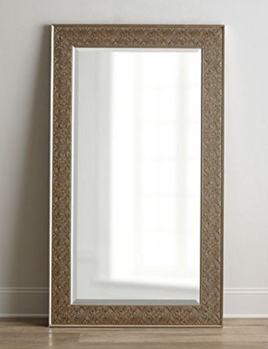 Ornate EMBOSSED SILVER Champagne Mirror product image