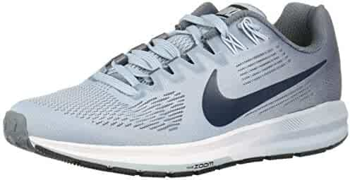 4dcb1d94ba951 Nike Women s Air Zoom Structure 21 Armory Blue Armory Navy Ankle-High Mesh  Running. Contact