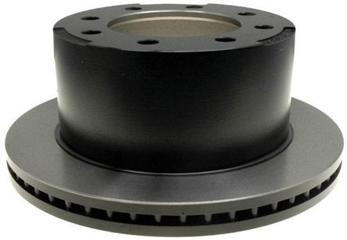 Drums Rotors Brakes Disc (ACDelco 18A1417 Professional Rear Drum In-Hat Disc Brake Rotor)