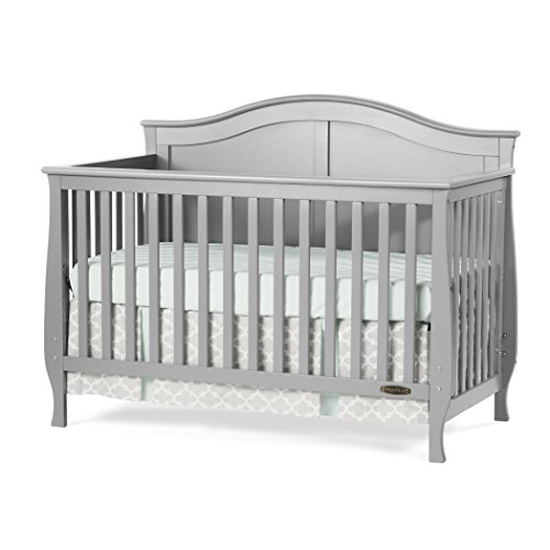 Child Craft Camden 4-in-1 Lifetime Convertible, Cool Gray