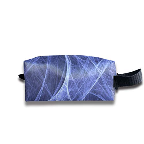 Small Toiletry Bag Cool Spider Web,Pencil Case,Travel Essentials Bag,Dopp Kit Bag For Men And Women With Handle -