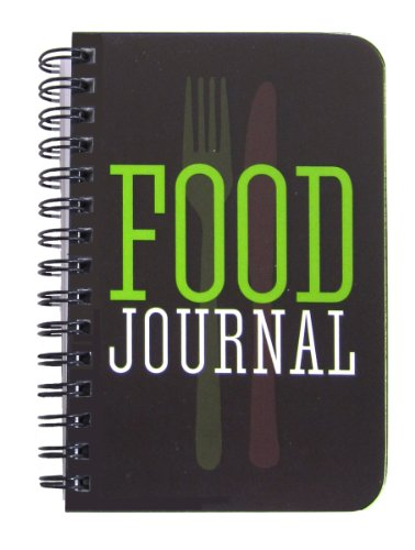 BookFactory Food Journal/Food Diary Logbook/Diet Journal Notebook/Book, 120 Pages - 3 1/2 x 5 1/4