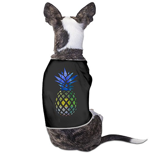 Pineapple HD Art New York Symbol Dog Clothes Dog Sweaters Dog Jackets (Personalized Christmas Cd)