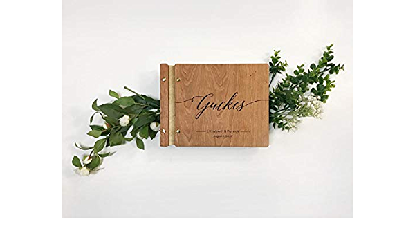 photo album small wedding album blank scrapbook album memory book 6 x 6 album wood cover book boho  album