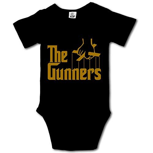 Arsenal FC The Gunner Cotton Bodysuit Romper Onesie Jumpsuit Baby Clothes