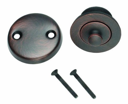 design-house-522359-lift-turn-bath-drain-kit-in-a-brushed-bronze-finish