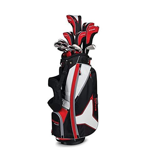 Callaway Men's Strata Tour Complete Golf Set, Prior Generation (18-Piece, Right Hand, Regular Flex)