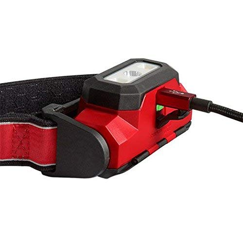 Milwaukee Electric Tools 2111-21 USB Rechargeable Headlamp Red - 3 Pack by Milwaukee Electric Tools (Image #2)