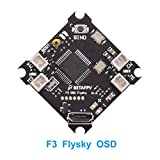 BETAFPV F3 FC Brushed Flight Controller SPI Flysky Receiver Integrated Betaflight OSD for Tiny Whoop FPV Micro Racing Drone
