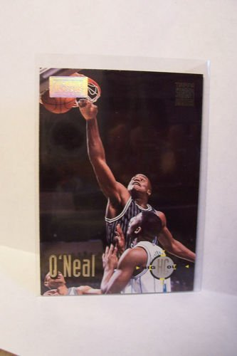 1993/1994 Topps Stadium Club Shaquille O'neal #175 Orlando Magic Basketball