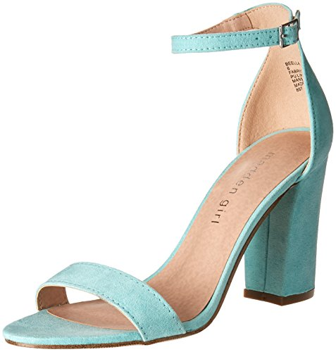 Madden Girl Women's Beella Dress Sandal Mint Fabric cheap sale enjoy with paypal discount best wholesale good selling cheap online uHJJnkEi4