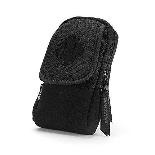 Primo Case (Black) Mech Mod Holder, Box Mod Vape Case, Premium Vape Bag, Portable E-Cig Case, Vape Travel Case, E-Juice, PAX, Aspire, Sigelei Box Mod (Black) (Aspire E Juice)
