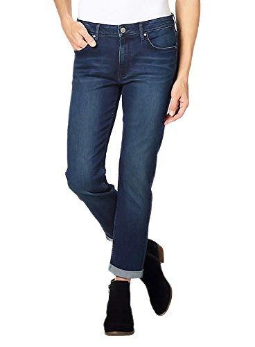 Calvin Klein Jeans Ladies' Slim Boyfriend Jean (8, Inkwell) by Calvin Klein Jeans