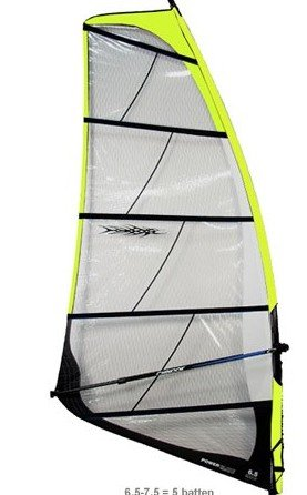 Chinook 7.5 Power Glide Windsurf SAIL, SP75 by CHINOOK SAILS