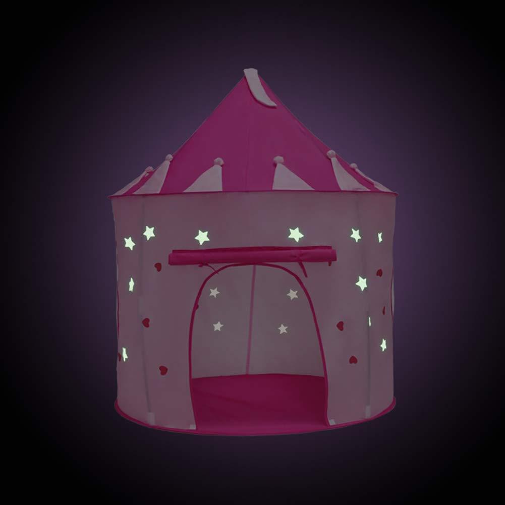 Bonabon Princesse Tente de Jouet, Princesse Château Tente Pop Up ...