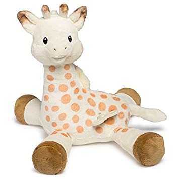 Amazon Com Mary Meyer Sophie La Giraffe Lullaby Soft Toy With Wind